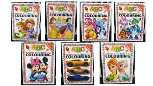 Colouring activity book (ABC)