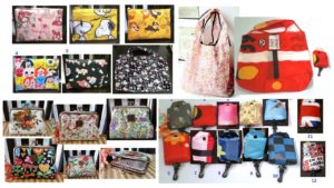 Purse and recycled