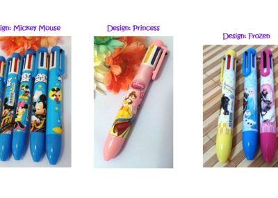 colouring writing pens