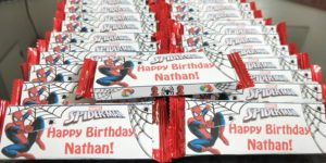 Spiderman wrapper